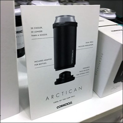 Corkcicle Arctican Counter-Top Sign Promotion
