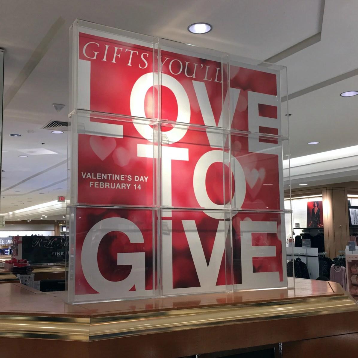 Love-To-Give Valentine's Day Storewide Celebration