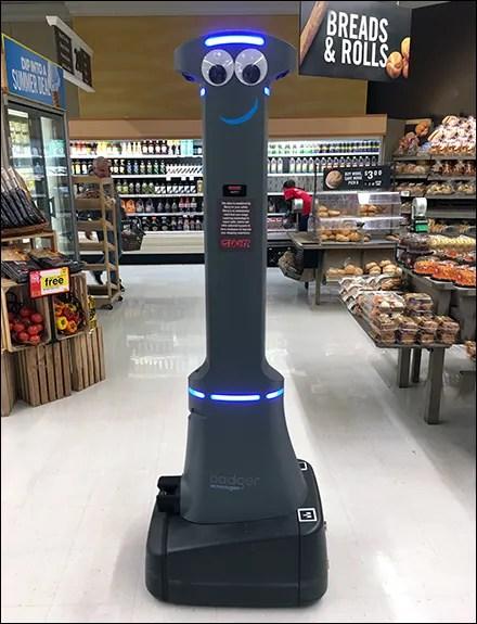 Retail Robot Workforce