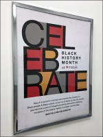 CEL-EB-RATE Macy's Black History Month Poster