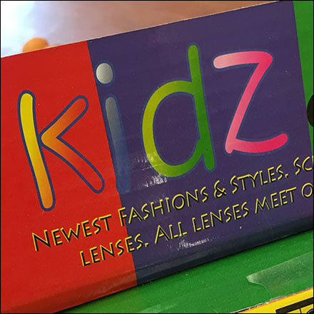 Corrugated Kidz Eyewear Sunglass Display