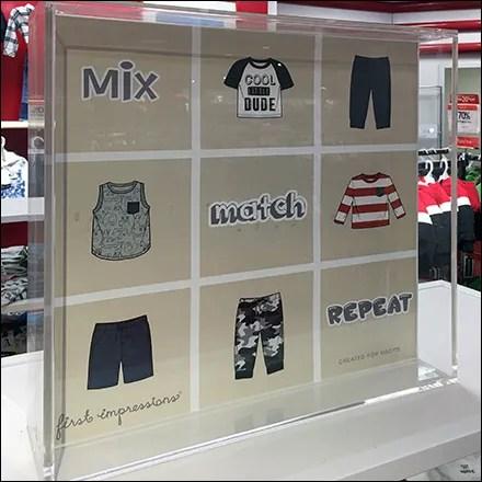 Baby-Boy Mix-And-Match Acrylic Shadowbox