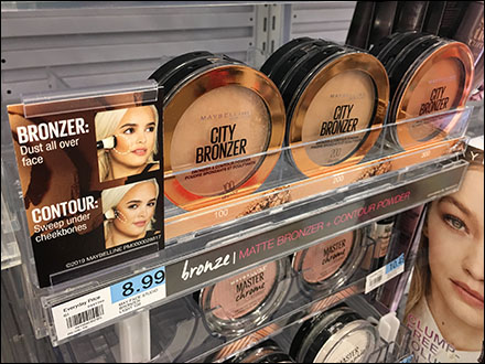 Maybelline Bronzer Shelf-Edge Pusher System