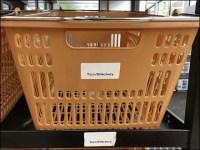 Returns Sorting Basket Cart System Concept