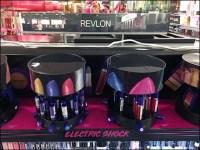 Revlon Electric-Shock Lipstick Carousel Display