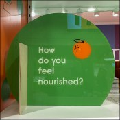 Experiential Do-You-Feel-Nourished Green Tower