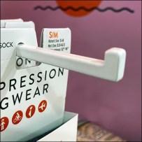 Experiential Vim-&-Vigor Socks Table-Stand T-Hook