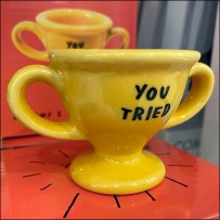 Experiential You-Tried Trophy Cup Award