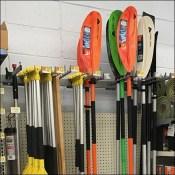 Canoe-Paddle Twin-Arm Bar Hook