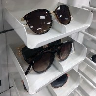 Sunglass Stacking Tray Display Concept