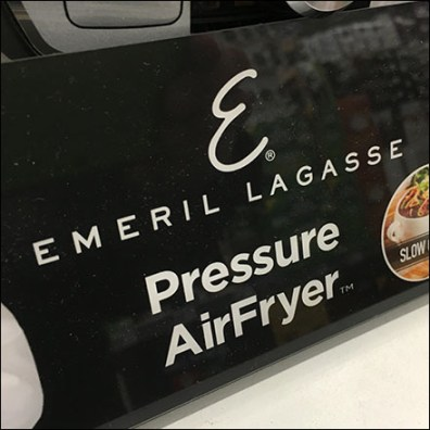 Emeril Lagasse Point-of-Purchase Branding