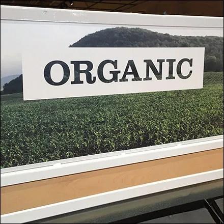 Market 32 Organic Produce Tray Cascade