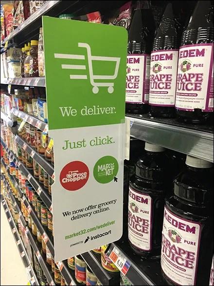 Market 32 Shelf-Perforation-Mount Sign-Clip