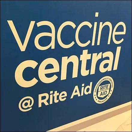 RiteAid CoronaVirus Vaccine Search Menu
