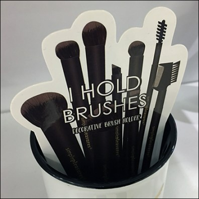 Blending-Is-My-Cardio Makeover Brush Cup