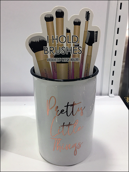 Pretty-Little-Things Makeup Brush Holder Insert