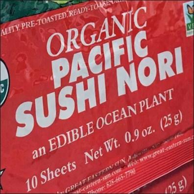 Organic Sushi Nori Strip Merchandiser