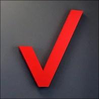 Verizon Corners Store Branding In Red