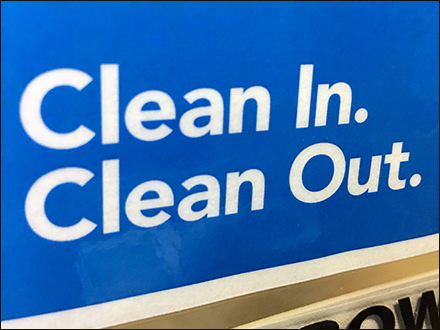 Clean-In Clean-Out CoronaVirus Hand Washing