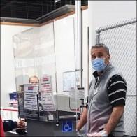 CoronaVirus Protective Checkout Sneeze Guard