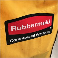 Rubbermaid-Branded Commercial Cleaning Cart