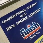 Finish-Quantum Unbeatable Floor Graphic