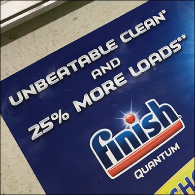 Finish-Quantum Unbeatable Floor Graphic