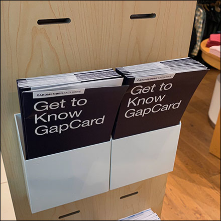 Gap Credit Card Slot Tower