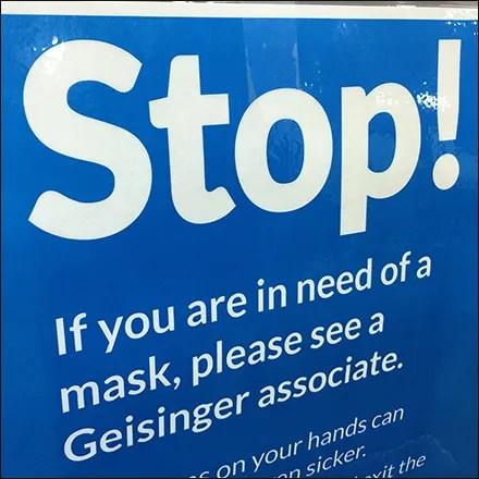 Just-Ask CoronaVirus Mask Request