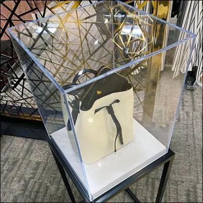 Ralph Lauren Purse Museum-Case-Pedestal