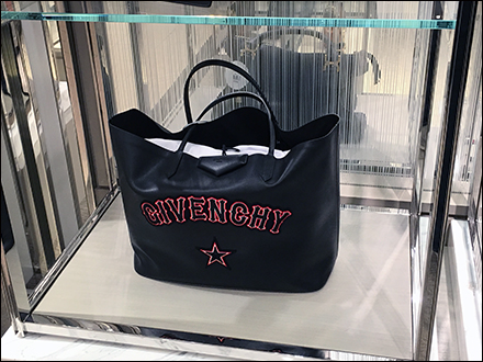 Givenchy Purse Museum Case Display
