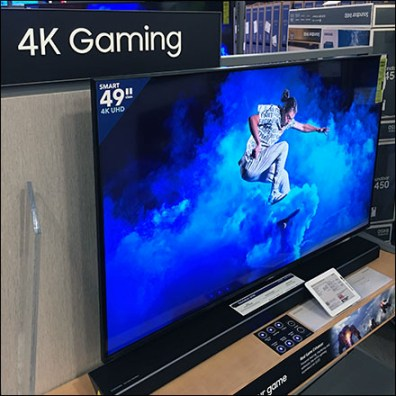 Samsung Hi-Res Gaming Television Display