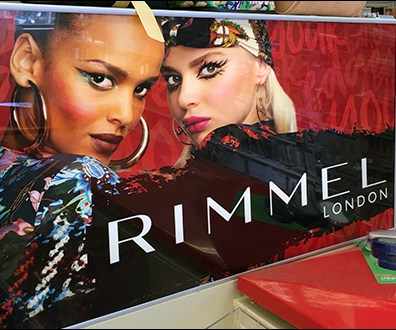 Rimmel In-Store Brand Billboard