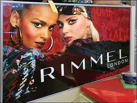Rimmel In-Store Brand Billboard