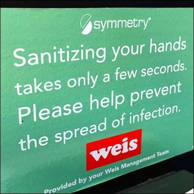 CoronaVirus Sanitizing Hands In Seconds