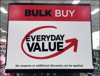 Bulk-Buy Endcap Discount Exclusions
