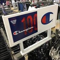 Champion Large Sign