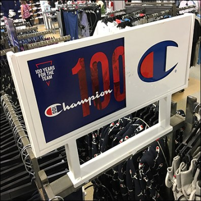 Champion Large Sign