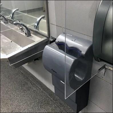 CoronaVirus Restroom Barrier