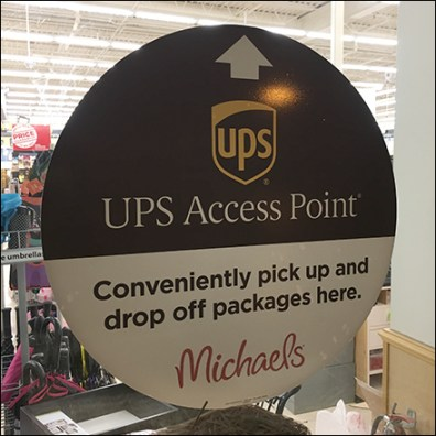 UPS-Access-Point Window Decal
