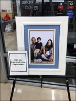 Custom-Framing Cross-Sell Easel