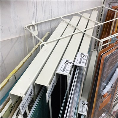 Diagonal Wall-Hung Cutting-Mat Rack