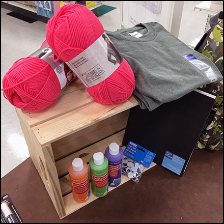 Do-It-Yourself Crate Visual Merchandising