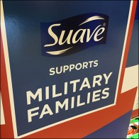 Suave Supports Military Families Display