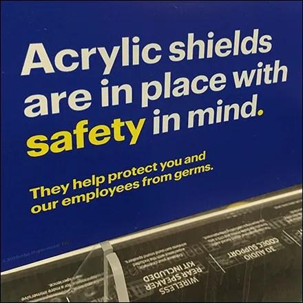 CoronaVirus Acrylic Safety Shields