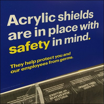 CoronaVirus Acrylic Safety Shields