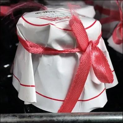 Organic Pomegranate Sauce Ribbon-Tie