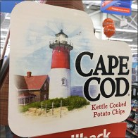 Cape Cod Rowboat Potato Chip Display