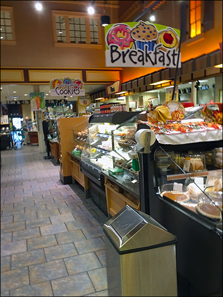 Colorful Grab-And-Go Breakfast Signage