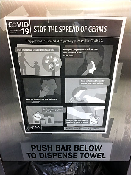 Kohl's Stop-The-Spread CoronaVirus Instructions